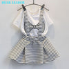 Bow Knot Dress Tops+Skirt 2Pcs - Baby Girls