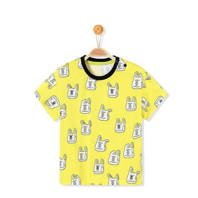 Boys 100% Cotton T Shirt Tops - 03 / 3Y - Boys