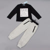 Boys 2Pcs Set T-Shirt +Pants Tracksuit - 2Y - Boys