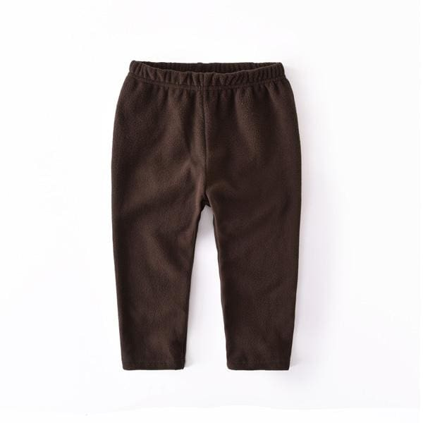 Boys Casual Fleece Solid Joggerpants - Boys