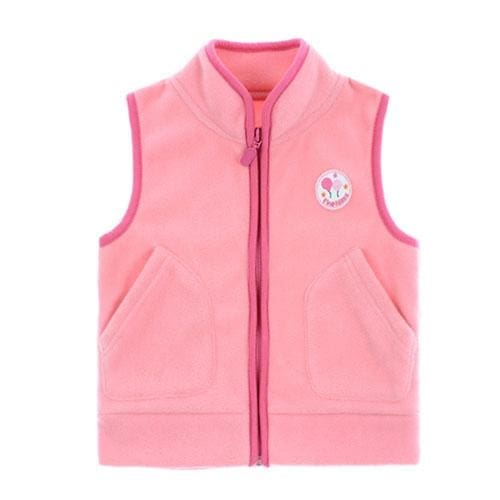 Boys Fleece Crayon Colors Vest - Boys
