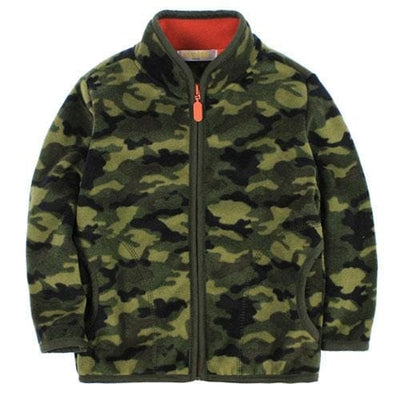 a909578a8 Boys Heavy Fleece Camouflage Outerwear