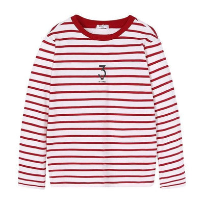 Boys Long Sleeve Boys Kids Tops Tee Tshirts O-Neck Costume - 02 / 11Y - Boys