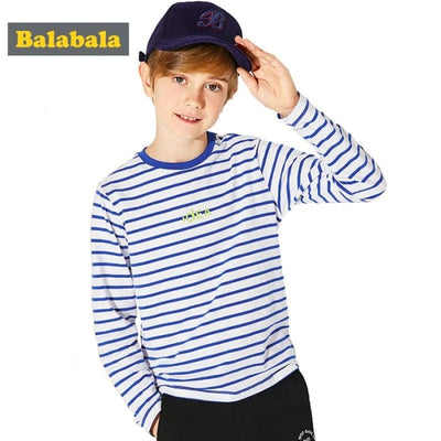 Boys Long Sleeve Boys Kids Tops Tee Tshirts O-Neck Costume - Boys