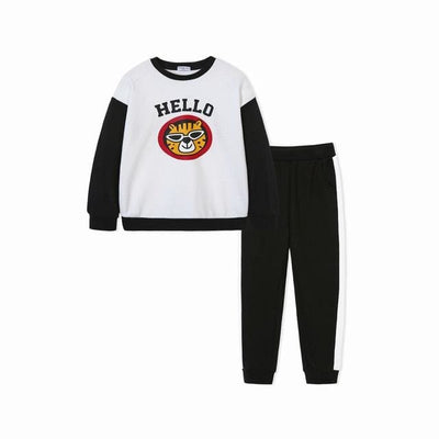 Boys Tracksuits Cute Animal Applique - 03 / 2Y - Boys