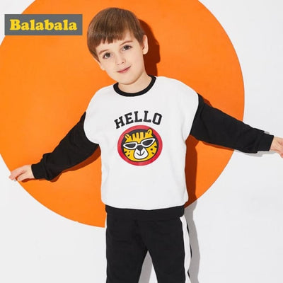 Boys Tracksuits Cute Animal Applique - Boys