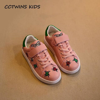 Casual Shoe Baby Girl Fashion Sport Sneaker - Pink / 11 - Girls