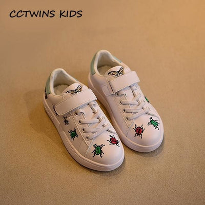 Casual Shoe Baby Girl Fashion Sport Sneaker - White / 11 - Girls