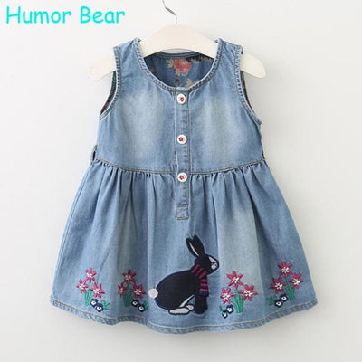 Casual Style Baby Girl Clothes Summer Dres - Girls