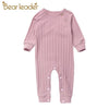 Cute Long-Sleeve Baby Jumpsuit - Baby Boys