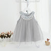 Dress Birthday Dress Sleeveless Tassel Design - Gray / 1Y - Girls