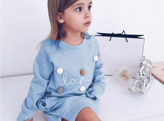 Embroidery Sweatshirt Girl - Pre-Order