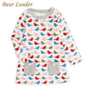 European And American Style Birds Striped Printing - Girls