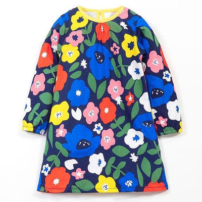 European And American Style Flowers - Multi / 2Y - Girls