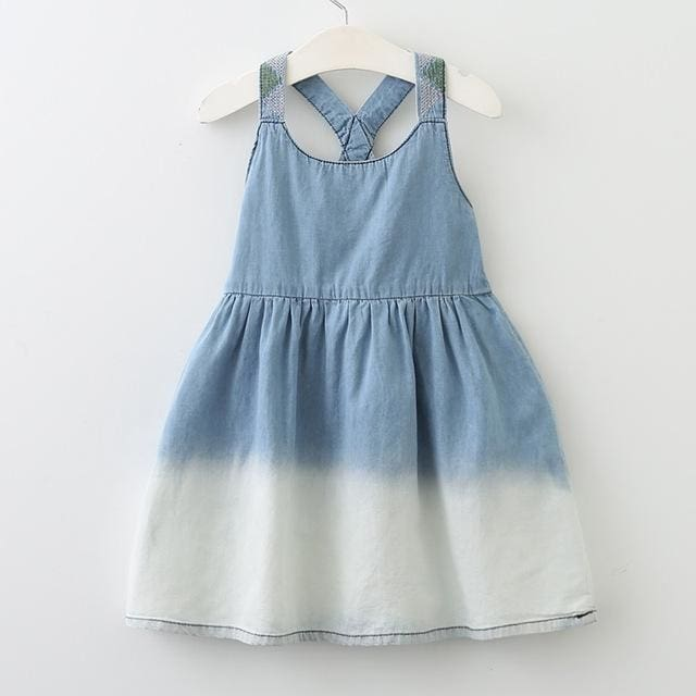 European And American Style Kids Dress - Girls