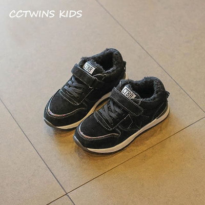 Fashion Casual Sneaker Classic - Black Thick / 13 - Boys
