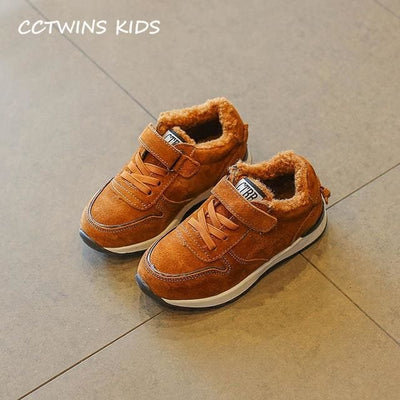 Fashion Casual Sneaker Classic - Brown / 13 - Boys