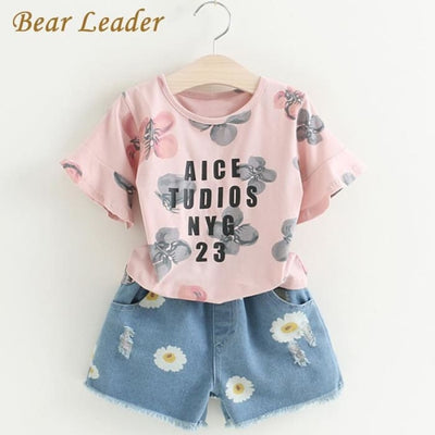Floral Sets Print - Girls
