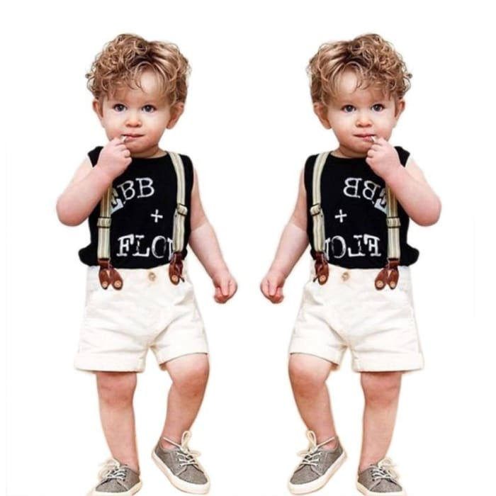 Gentleman Outfit - Black / 2Y - Boys