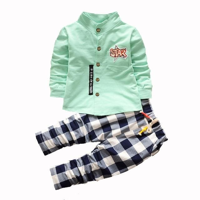 Gentleman Shirt Outfit - Boys