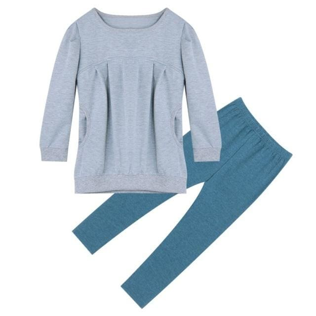 bbb0c8e95969 Girl Cotton T-shirt Tops+Pants Outfits Set