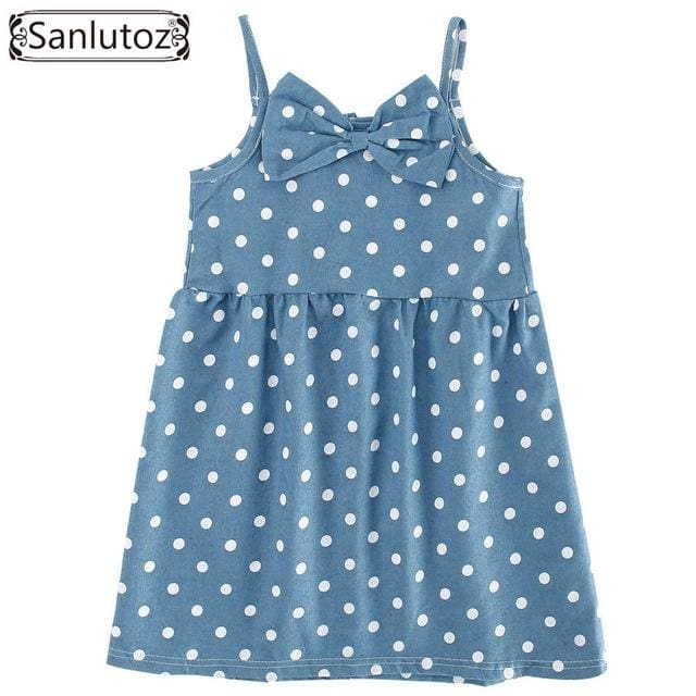 Girl Polka Dot Dress - Girls