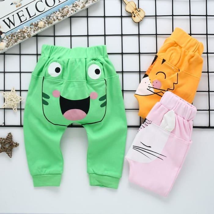 Girl Winter Pants Newborn Boy - Green / 1Y - Baby Girls