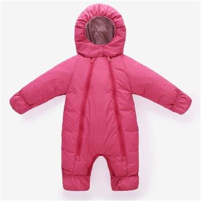 Girls Boys Clothing Sets Overcoat Outdoor Warm Coat Hooded Children Rompers - Baby Boys