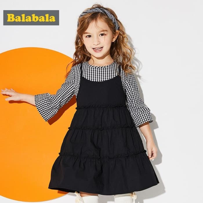 Girls Dress - Black / 2Y - Girls