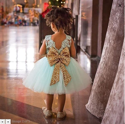 Girls Dress - Green / 3Y - Girls