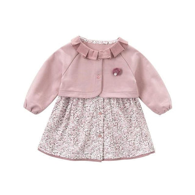 Girls Dress - Pink / 1Y - Girls