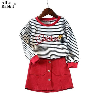 Girls Dress - Red / 2Y - Girls
