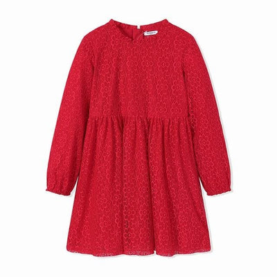 Girls Dress - Red / 6Y - Girls