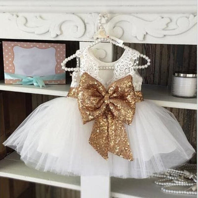 Girls Dress - White / 3Y - Girls