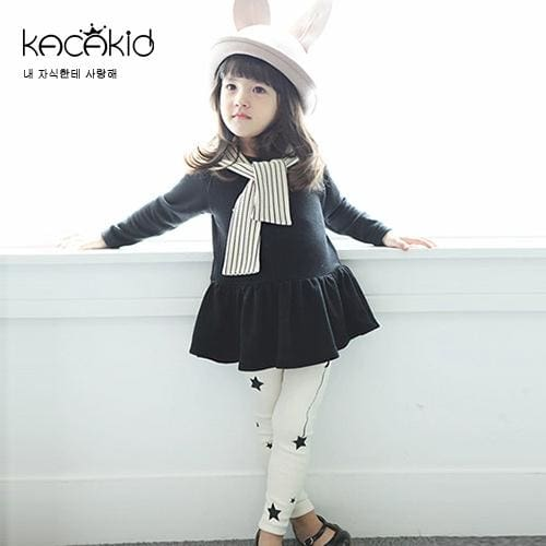 Girls Longsleeves Shirt+Pants Cotton - Girls
