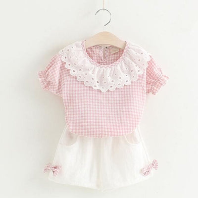 Girls Outfit - Pink / 2Y - Girls