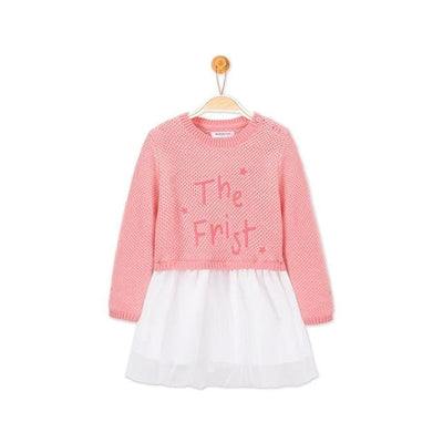 Girls Party Dress - Pink / 3Y - Girls