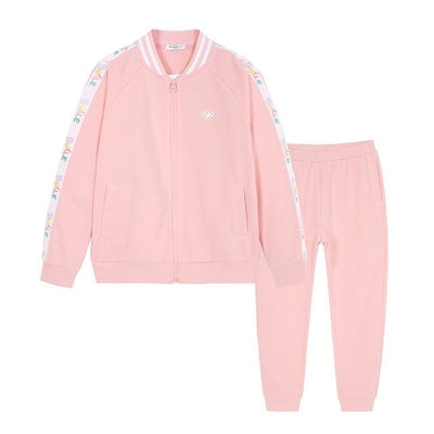 Girls Spring Sport Outfit - Pink / 5Y - Girls