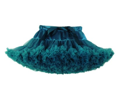 Girls Tulle Party Skirts - Green / 6Y - Girls