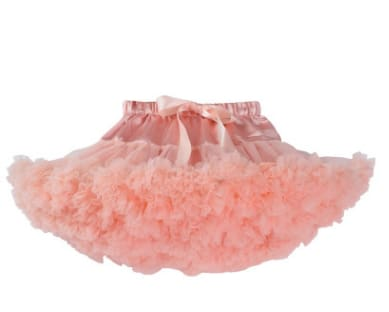Girls Tulle Party Skirts - Light Pink / 6Y - Girls