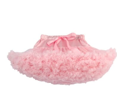 Girls Tulle Party Skirts - Pink / 6Y - Girls