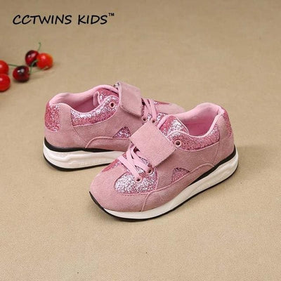 Glitter Fashion Shoe - Pink / 1 - Girls