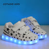 Glowing Light Led Sneaker - Girls