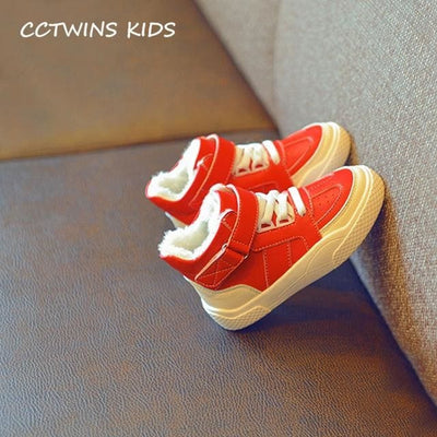 High Top Sneaker Baby Girl - Red Thin / 9.5 - Girls