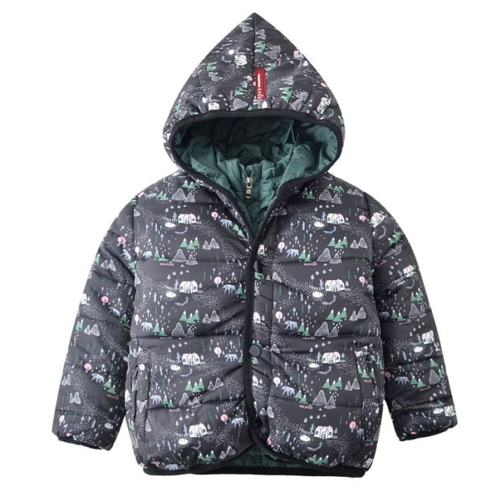 850635e21 Jackets Hooded Zipper And Button Jacket