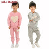 Knitted Sports Suit - Girls - Outfit