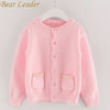 Long Sleeve Outerwear Open Stitch - Girls