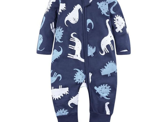 Long Sleeves Footies Jumpsuit Sleepwear - Pre-Order