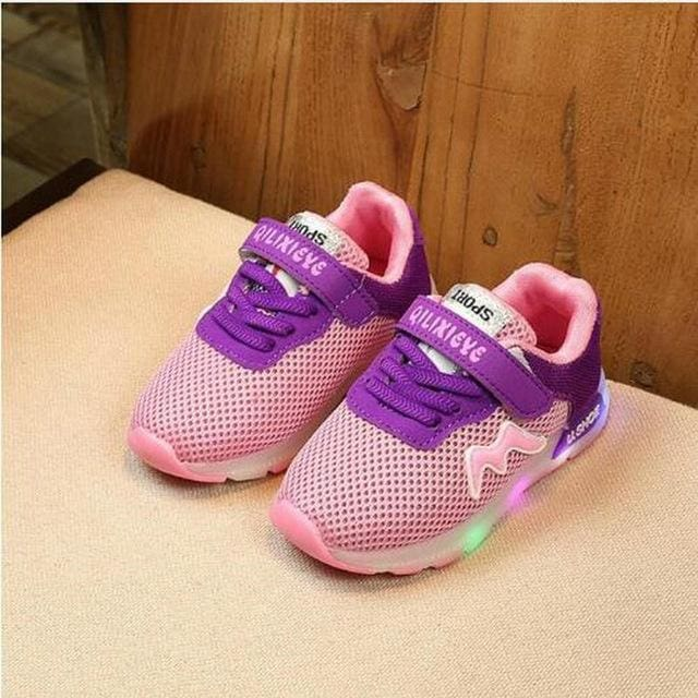 Luminous Sneakers - Boys - Shoes