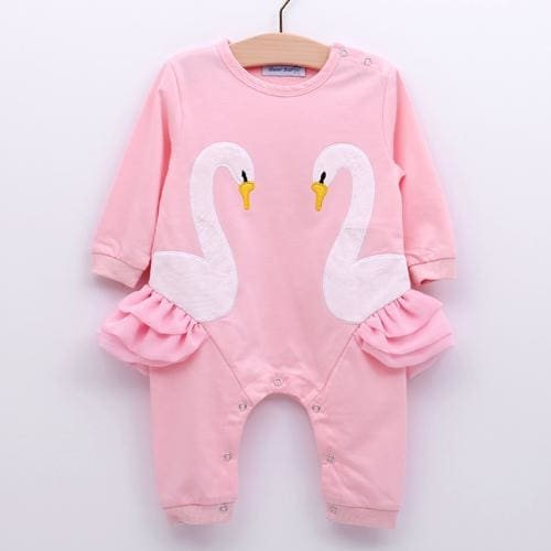 a05077fc6a2 New Infant Jumpsuit Baby Suit Christmas Newborn Romper - Pink   18M - Girls  - Outfit